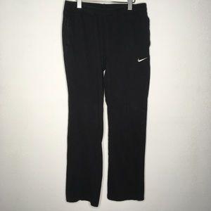 Nike Black Cotton Drawstring Lounge Pants Size M